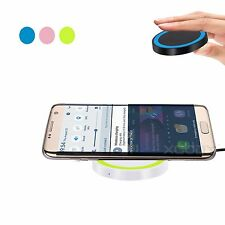 New Qi Wireless Charging Pad Charger USB Cable For Iphone 5 Samsung S5 S6 HTC LG