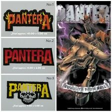 Pantera Rock Band Patch Sew Iron On Embroidered Free Shipping Heavy Metal Music