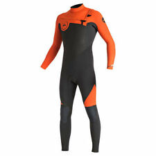 Quiksilver Syncro 4/3 GBS Chest Zip Wetsuit Mens Unisex Surfing Watersports Surf