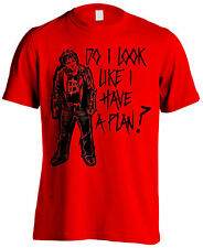 WWE D Ambrose Comic Plan Red - American Wrestlers Official - UCL Red T-shirt DTG