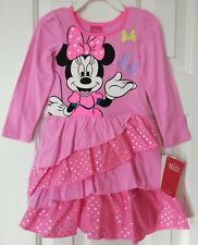 Disney Mickey Mouse Friends Minnie Mouse Tiered Dress-Toddler Girls Size:2 T-3 T