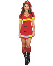 Fire Chief Womens Costume