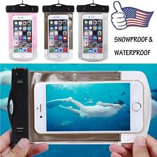 Waterproof Wrist Strap Pouch Dry Bag Underwater Case Cover For iPhone 6Plus 5.5