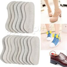 3/5Pairs Fabric Shoe Pads Cushion Liner Grip Back Heel Inserts Insoles Foot Care