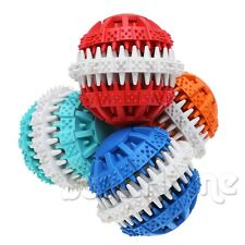 Puppy Dog Pet Toy Rubber Rotatable Ball Bone Chew Dental Teeth Toy For Training