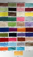 72mm x 5 metres Satin Ribbon You Choose Colour Length & Width 41 Colours NEW