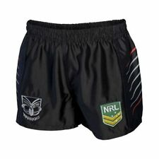 New Zealand Warriors 2017 NRL Kids Supporter Shorts BNWT Rugby League Clothing