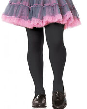 Black Opaque Girls Tights