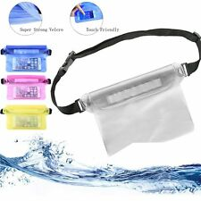 Unisex Waterproof Dry Pouch Fanny Pack Waist Bag for Swimming / Beach / Hiking