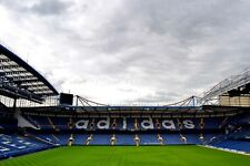 Chelsea FC Stamford Bridge North Stand UK photograph picture poster art print