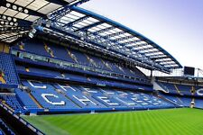 Chelsea FC Stamford Bridge West Stand London photograph picture poster art print