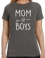 Mom of Boys Womens T-Shirt cool tshirt designs funny tees mom gift mother day