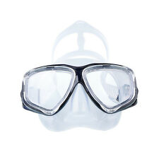 Adult Clear Silicone LARGE Anti-fog Swim Goggles Glasses Swimming Dive Mask