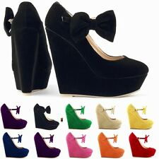 Sexy Women Slipsole Super High Heels Ankle Knot Buckle Shoes Lady Party Platform