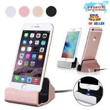 New Universal Micro USB Charging Dock Stand  Sync Charger Rose Gold For Android