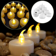 BATTERY INCLUDED LED TEA LIGHT TEALIGHT CANDLE CANDLES FLAMELESS WEDDING DECOR