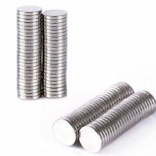 Disc 5x1mm Neodymium 100Pcs Super Strong Rare-Earth N35 Small Fridge Magnets