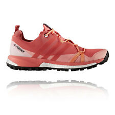 Adidas Terrex Agravic Womens Pink Trail Running Sports Shoes Trainers Pumps