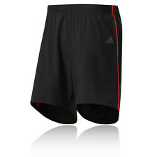 "Adidas Response 5"" Mens Black Climalite Running Training Shorts Pants Bottoms"