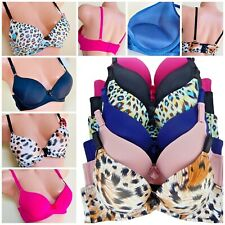 3 BRAS LACE ADD 2 CUP SIZE THICK PADDING Extreme Power PUSH UP T-SHIRT 32B-38C
