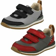 Infant Boys Clarks Ferris Cap First Walking Shoes