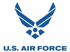 US AIR FORCE USAF EMBLEM ARMY WINGS MILITARY VINYL DECAL STICKER