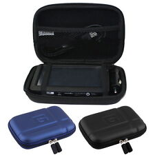 """Large Hard Carry Case Cover 5"""" In Car Sat Nav Holder For GPS TomTom Classic OI"""