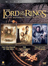 The Lord of the Rings: The Motion Picture Trilogy (DVD, 2004, 6-Disc Set, WS NEW
