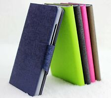 For LG Optimus G E970 Luxury Oracle Vein PU Leather Flip Wallet Case Cover