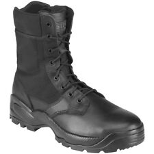 """5.11 Speed 2.0 Tactical 8"""" Mens Lace Up Side Zip YKK Boots Police Security Black"""