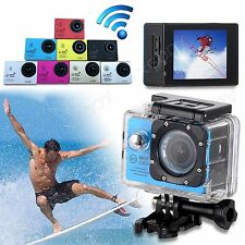 SJ7000 2'' HD 1080P 12MP Helmet Action Waterpoof Sports Camera DV WiFi Dash Cam