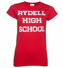 Official Women's Red Rydell High Grease Cheerleading T-Shirt