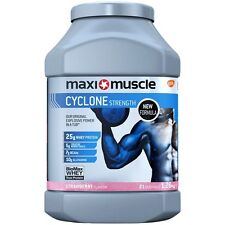 Maximuscle Cyclone 1.26kg Protein All in One Shake *All Flavours*