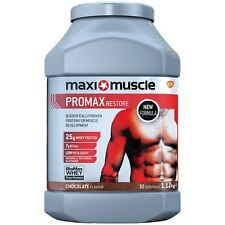 Maximuscle Promax 1.12kg Protein Whey Powder Shake Maximuscle *All Flavours*