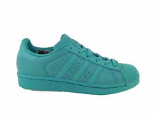 NEW WOMENS ADIDAS ORIGINALS SUPERSTAR CASUAL SHOES TRAINERS EASY MINT / EASY MIN