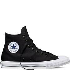 Converse Chuck Taylor All Star II HI Top Shoe Black Mens US 11 = Womens 13