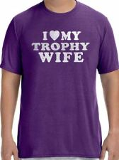 I Love My Trophy Wife Men's T-Shirt cool tshirt design funny tees wife gift
