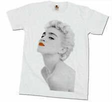Madonna Sexy Star Pop Band Men Printed T-Shirt Punk Rock Music Tees Size M , L