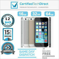 Apple iPhone 5S 16GB 32GB 64GB *Excellent Condition 12 Month Warranty *Unlocked