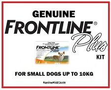 FRONTLINE PLUS DOG TREATMENT KIT FOR DOGS 0-10KGS UP TO 6 MONTHS' SUPPLY
