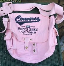 Pink Converse Chuck Taylor 1908 Canvas Shoulder Bag With Two Pockets