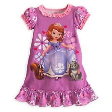 NWT Disney Store Princess Sofia the First Curtsy Nightgown Pajamas SZ 10