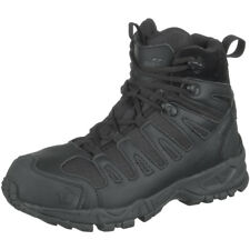 """Pentagon Achilles 6"""" Tactical Boots Police Army Patrol Leather Footwear Black"""