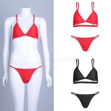 Women Padded Push-up Bra Bikini Set Swimsuit Bathing Suit Swimwear G-string SEXY