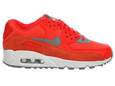 NEW WOMENS NIKE AIR MAX 90 RUNNING SHOES TRAINERS MAX ORANGE / COOL GREY / WHITE