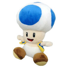 "Nintendo Official Super Mario Bros Plush 7"" Toad Plush (18 cm)"
