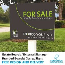FOR SALE DIRECT FROM OWNER or House Letting TO LET Estate Sign Boards x 2