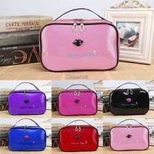 New Women Makeup Bag Travel Cosmetic Cases Small Organizer Ladies Cosmetic OK03