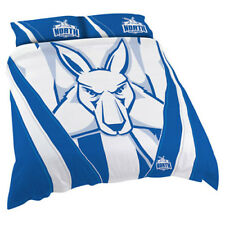 North Melbourne Kangaroos 2017 AFL Quilt Cover Set Single Double Queen King BNWT