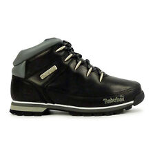 Mens Timberland Euro Sprint Black Smooth Boots
